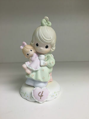 """Precious Moments Figurine 136239 """"Growing in Grace"""" Age 4"""