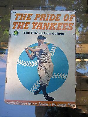 The Pride of the Yankees, Lou Gehrig story, The Life of Lou Gehrig 1949