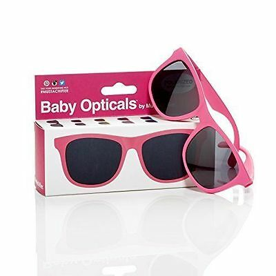 Mustachifier Baby Opticals Polarized Sunglasses - Pink, Ages 0-2 B4b