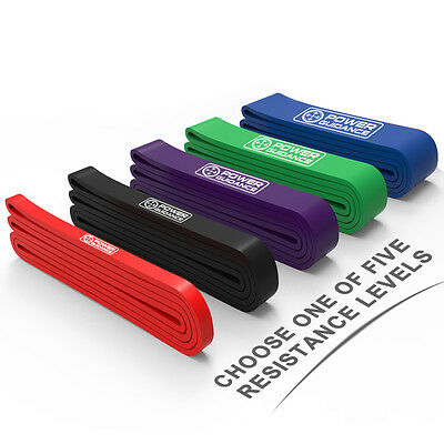 Power Guidance Latex Pull Up Assist Bands Streching Band Resistance Stretching