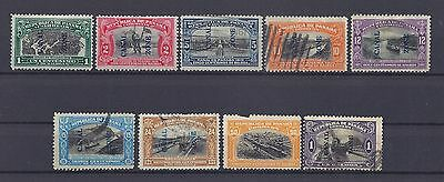 A.36 - Panama stamps, Canal zone, 1915-1920, collection