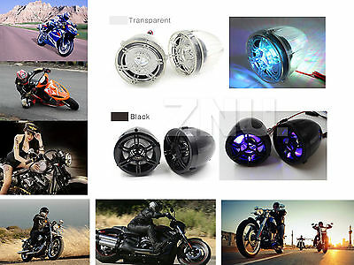 Bluetooth Audio System USB SD Radio Stereo Amplifier Speaker MP3 for Motorcycle