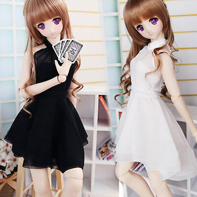 Hot Sweet Royal Sister Black/White Dress For 1/3 SD16 DDDY DD BJD Clothes/Outfit