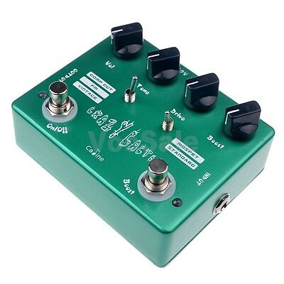 Caline CP-20 Crazy Cacti Overdrive Effects Pedal