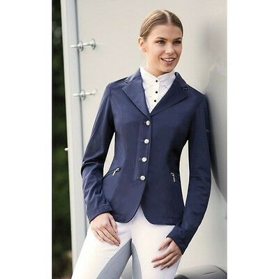 Equetech - Ellipse Show Jacket - Ladies Equestrian Competition Jacket - Navy