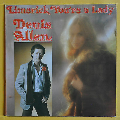 Denis Allen Limerick You're A Lady Release Records  BRL 4115 Ireland 1980