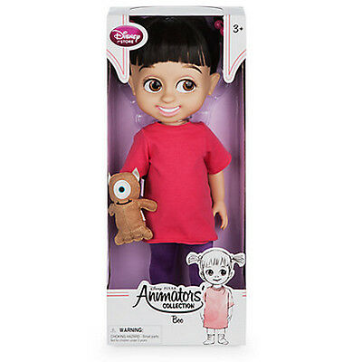New Official Disney Monsters Inc 41cm Boo Animator Toddler Doll With Mickey Tedd