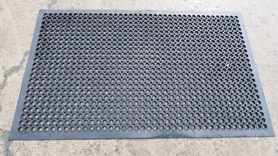 5' x 3' Industrial Large Heavy Duty Rubber ring Mat Safety Anti-Fatigue Non Slip