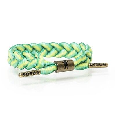 RASTACLAT Shoelace Bracelet Pudwill/Grizzly - Indica - green/mustard