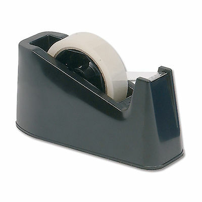 Heavy Duty Tape Dispenser Desktop Office Sellotape Sticky Cellotape Pack Holder*