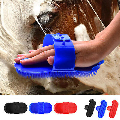 Horse Cattle Sheep Plastic Comb Remove Mud Dirt From Horse Winter Coats Brush