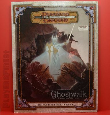 D&D Ghostwalk - 3,5th Edition / Hardcover /Roleplaying Campaign