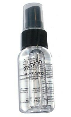 Mehron Barrier Spray Makeup Setting Sealer Stage Theater Fixitive