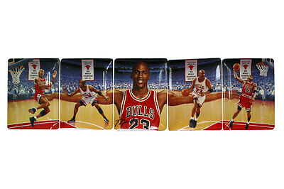 """NBA Chicago Bulls Michael Jordan """"Soaring Above the Rest"""" Plate Collection"""