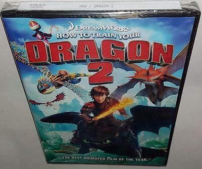 How To Train Your Dragon 2 (2014) Brand New Sealed R1 Dvd