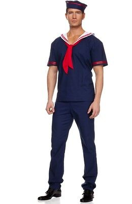 Men's Adult Sailor Pirate Costume Adult