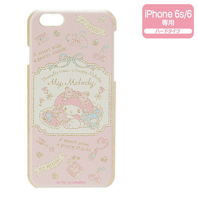 My Melody iPhone 6 6s Hard Case Cover Glitter ❤ Sanrio Japan