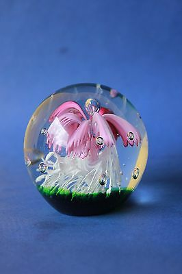 Vintage art glass paperweight.