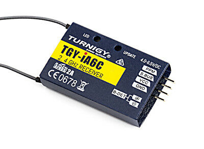 RC Turnigy iA6C PPM/SBUS Receiver 8CH 2.4G AFHDS 2A Telemetry Receiver