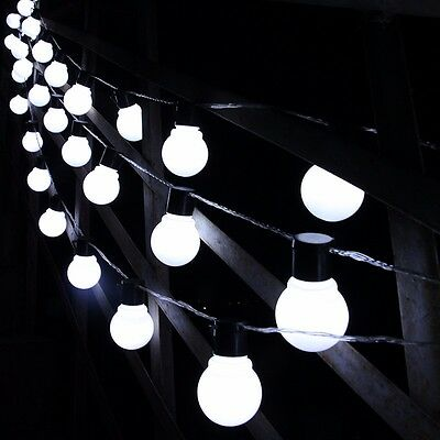Uk Led Festoon Globe Bulb Indoor Outdoor Garden Fairy String Wedding Party Light