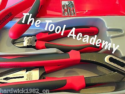 Teng Tools Plier Cutter Grips Tool Kit With Case And Tray