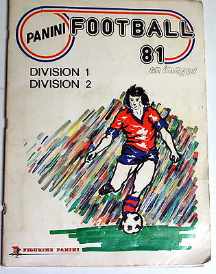 ★★★VINTAGE!!! album foot PANINI 1981 complet 100%★★★