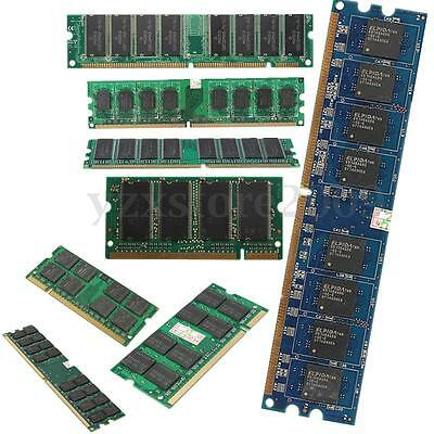 AU 512MB-2GB DDR DDR2 DDR3 SDRAM Destop / Laptop Memory RAM For AMD / INTEL CPU