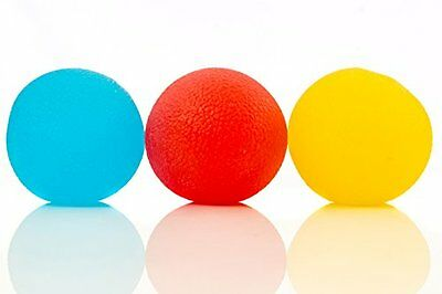 Toy Balls Squishy Stress Relief Balls (3-pack) - Tear-Resistant Stress Ball, as