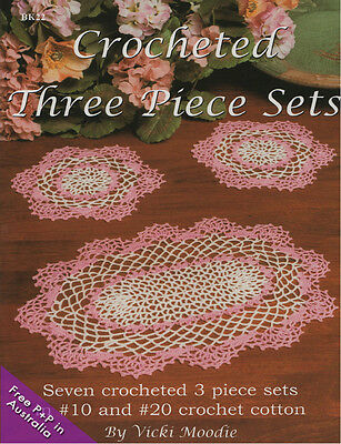 Crocheted Three Piece Sets by Vicki  Moodie