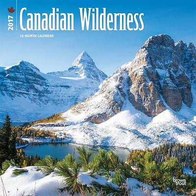 Canada Canadian Wilderness 2017 Uk Square Wall Calendar New & Sealed