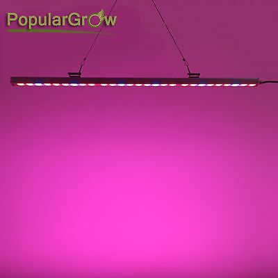 Populargrow 81w Led Grow Light Bar Red&Blue For Indoor Hydro Plant Stripe Lamp