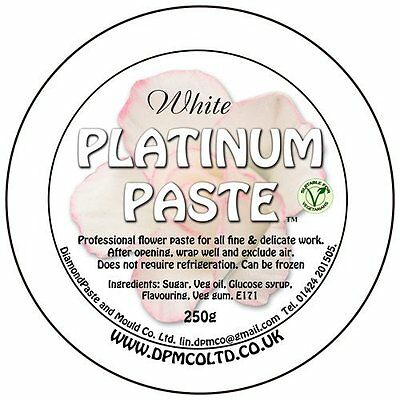 Platinum Flower Paste Sugar Florist Paste