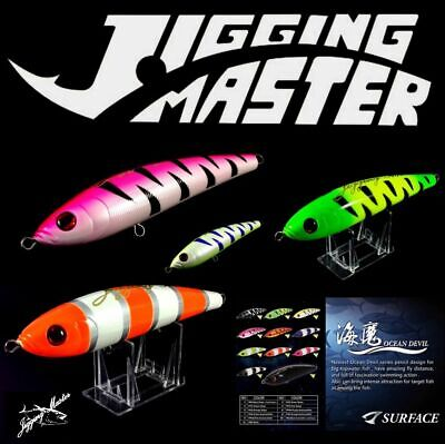 JIGGING MASTER OCEAN DEVIL SERIE SINKING PENCIL LURE 120g