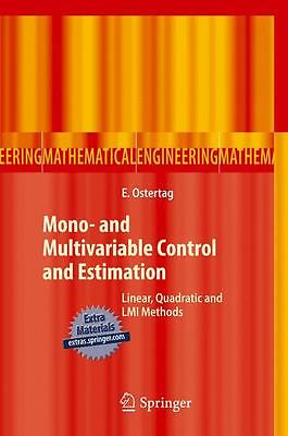 Mono- and Multivariable Control and Estimation Erik Ostertag