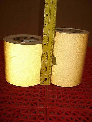 "Lot of 2 3M Reflective Graphic Film Tape Striping 680-64 GOLD 5"" & 6"""