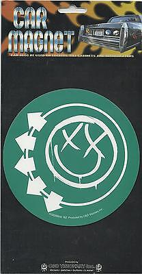 BLINK 182 smiley face LARGE CAR MAGNET 2005 official IMPORT sealed RARE