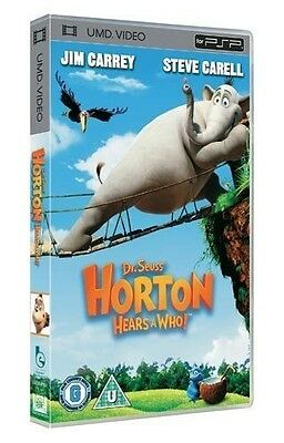 Horton Hears A Who! (New & Sealed)(Sony PSP UMD Video)   Free  Postage