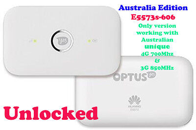 New Unlocked Huawei E5573 4G Wifi Modem Vodafone Telstra Optus
