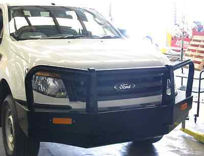 Ford Ranger 2012-2015 Commercial Touring Bullbar Winch Airbag Compatible 4WD