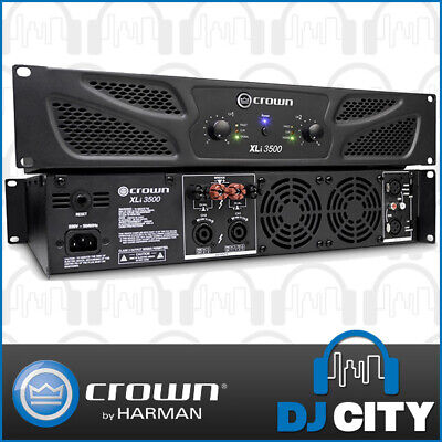 Crown XLI3500 PA Power Amplifier 2700W 2 Channel Pro Audio Amp