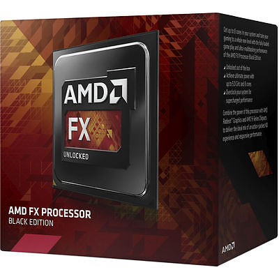 AMD FX-8300 BLACK Edition 8 Core Design 4.2Ghz Turbo Core 16M Cache 95watt [F03]