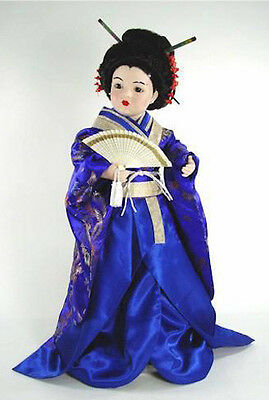 "Marie Osmond 2005 ""Chika In Blue"" 23"" Porcelain Doll"