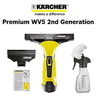 Karcher Wv 5 Plus Nsck Rechargeable Window Vac Cleaner,windows 2 X Batteries