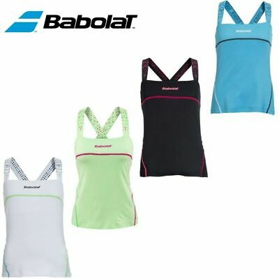BABOLAT Womens Match Tank Tennis Top T Shirt Performance Tee 41S1518 New