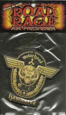MOTORHEAD hammered 2002 AIR FRESHENER official SEALED usa IMPORT - LEMMY