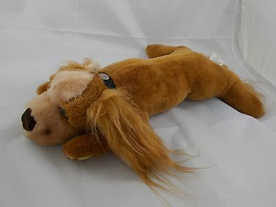 "Lying Dog Plush 16"" McCrory Corp Vintage"