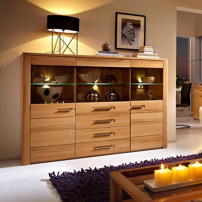 wohnzimmerschrank massiv eur 100 00 picclick de. Black Bedroom Furniture Sets. Home Design Ideas
