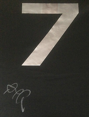 Richie Mccaw Signed New Zealand All Black Rugby World Cup Shirt 2015