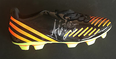 Alessandro Del Piero Signed Juventus Italy Football Legend Boot+Photo Proof