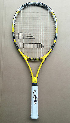 Rafael Nadal Signed Babolat Nadal Tennis Racquet+Photo Proof*see Nadal Sign*